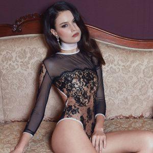 body dentelle noir lingerie saintvalentin juponsdetess