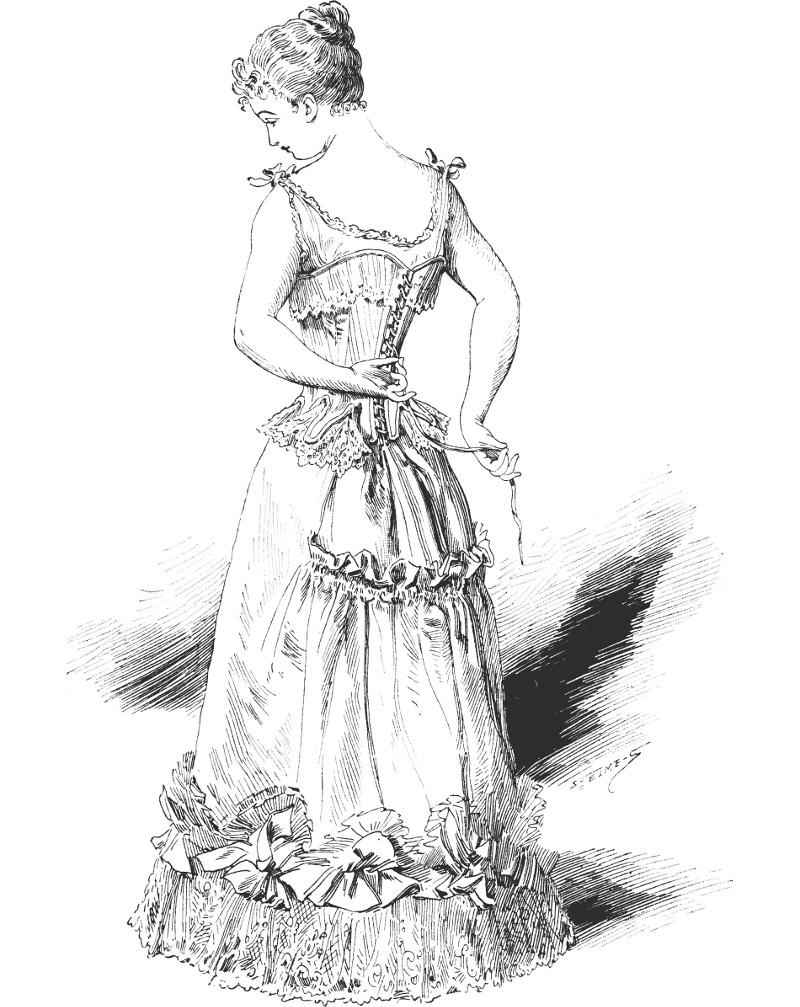 Du corset à la guêpière et au busiter