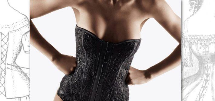 Du corset à la guêpière et au bustier