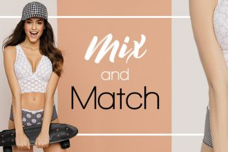 Lingerie Mix and Match et maillot de bain