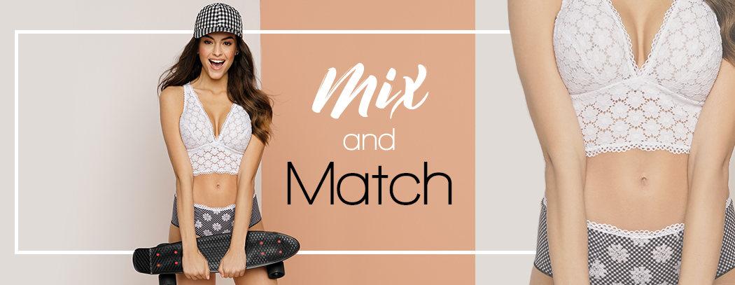 Lingerie Mix and Match et maillot de bain