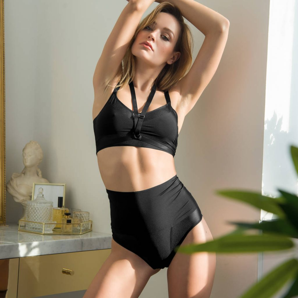 Brassiere lingerie invisible confort tendance