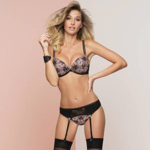 Antigel lingerie séduction porte-jarretelles résille
